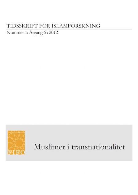 Se Årg. 6 Nr. 1 (2012): Muslimer i transnationalitet