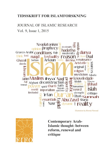 Se Årg. 9 Nr. 1 (2015): Contemporary Arab-Islamic thought: between reform, renewal and critique