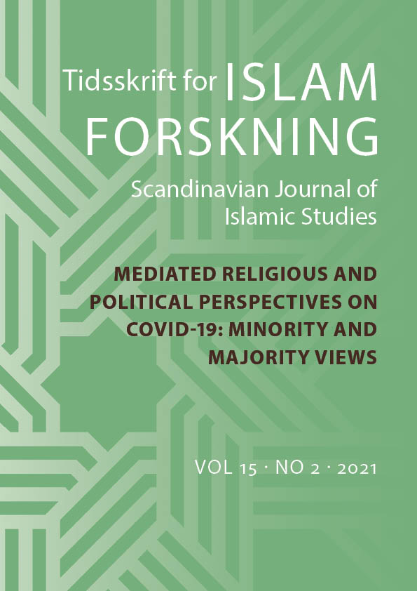 Se Årg. 15 Nr. 2 (2021): Mediated religious and  political perspectives on covid-19: Minority and  majority views